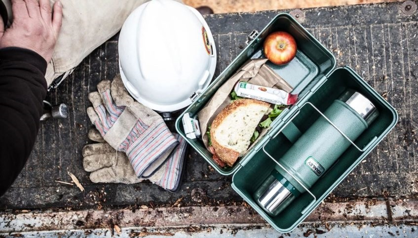 Construction Worker Lunch Box.